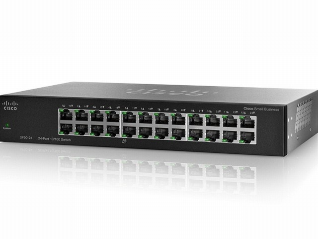 Cisco SF90-24, 24-Port 10 100 Switch rack-mount (SF90-24)