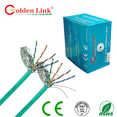 Dây cáp mạng Golden Link  Plus Category FTP CAT5E Cable lõi đồng
