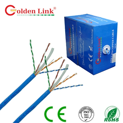 Dây cáp mạng Golden Link Plus Category UTP CAT6E Cable lõi đồng