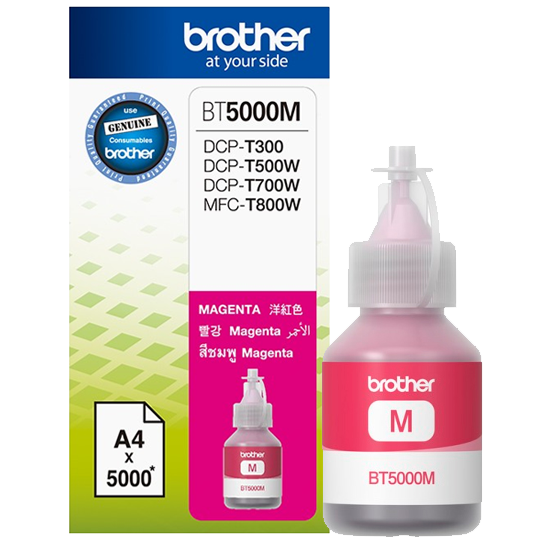 Mực in Brother BT5000M, Magenta Ink bottle (BT5000M)
