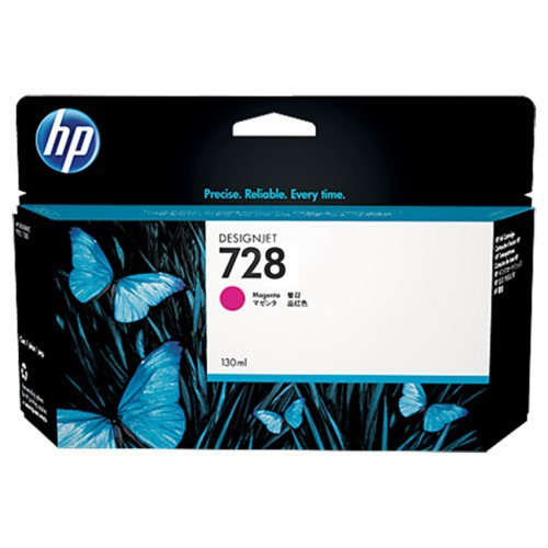 Mực in HP 728 130-ml Magenta DesignJet Ink Cartridge (F9J66A)
