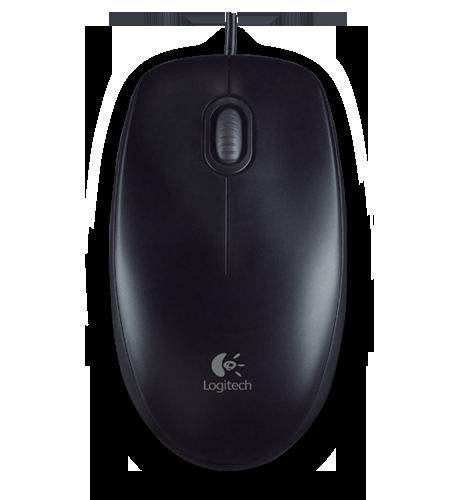 Chuột quang có dây Logitech B100