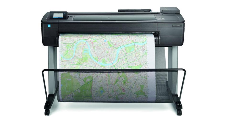 Máy in khổ lớn HP DesignJet T730 36-in (914-mm) Printer (F9A29A)