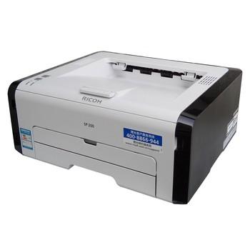 Máy in Ricoh SP200, Laser trắng đen