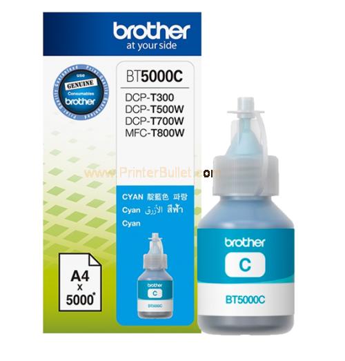 Mực in Brother BT5000C, Cyan Ink bottle (BT5000C)