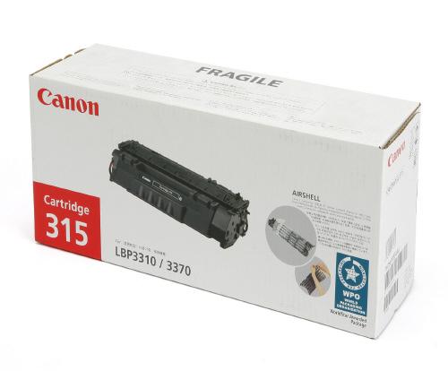 Mực in Canon 315 Black Toner Cartridge