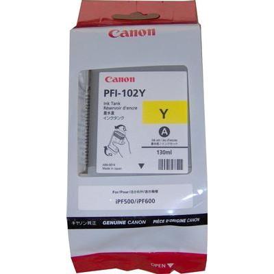 Mực in Canon PFI-102Y Yellow Ink Tank