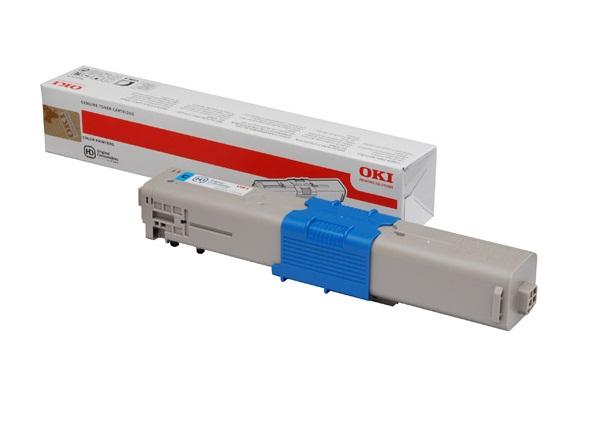 Mực in Oki C301 Cyan Toner Cartridge