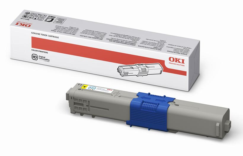 Mực in OKI C310 Yellow Toner Cartridge