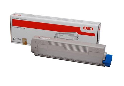 Mực in Oki C831 Black Toner Cartridge