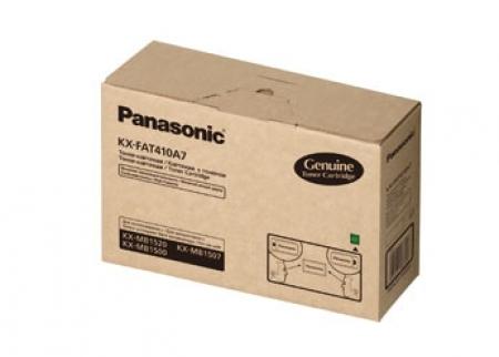 Mực in Panasonic KX FAT410, Black Toner Cartridge