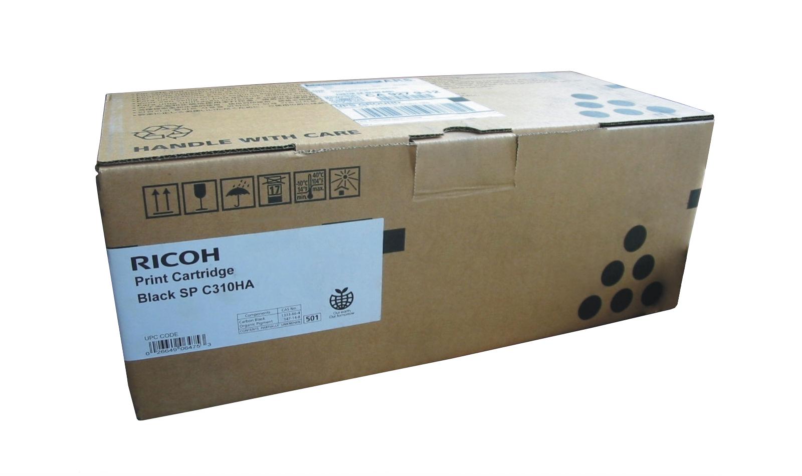 Mực in Ricoh C310S Black Toner Cartridge
