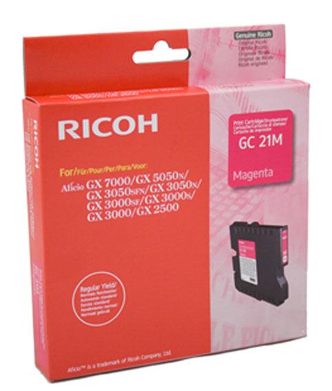 Mực in Ricoh GC21 Magenta Gel Cartridge