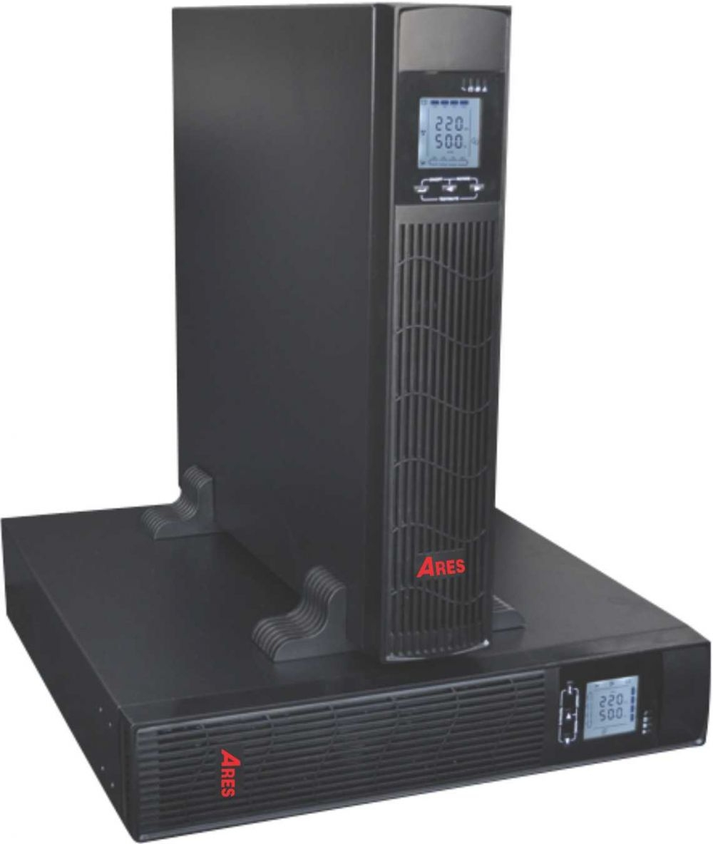 UPS 6KVA Ares AR906IIRT (5400w) Online Rack/Tower